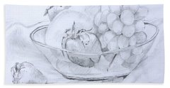 Still Life With Fruit Bath Towel