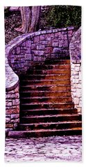 Stone Staircase Hand Towel