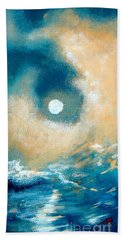 Hand Towel featuring the painting Storm by Ana Maria Edulescu