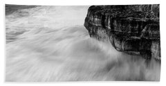 Bath Towel featuring the photograph Stormy Sea 1 by Pedro Cardona