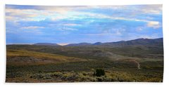 Stormy Wyoming Sunrise I Bath Towel