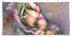 Summer Breeze -abstract Art Bath Towel