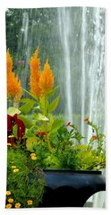 Summer Spray Bath Towel by Michelle Joseph-Long