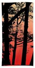 Summer Sunset Hand Towel