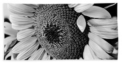 Hand Towel featuring the photograph Sunflower by Dan Wells