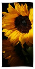 Sunflowers Hand Towel by Dorothy Cunningham