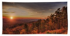Sunrise 2-talimena Scenic Drive Arkansas Hand Towel