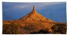 Sunrise At Chimney Rock Bath Towel