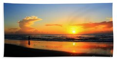 Sunrise Couple Bath Towel by Dan Stone
