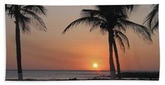 Bath Towel featuring the photograph Sunset by David Gleeson