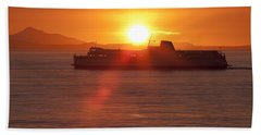 Sunset Hand Towel by Eunice Gibb