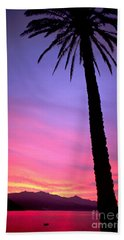 Bath Towel featuring the photograph Sunset by Luciano Mortula