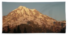 Sunset On The Mountain Hand Towel