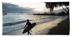 Sunset Surf Bath Towel