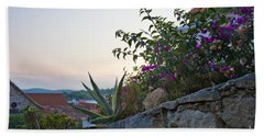Sunsetting Over Hvar Hand Towel