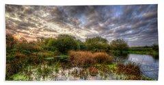 Swampy Bath Towel by Yhun Suarez