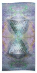 Synthesphered Grail On Caducus Blazed Tapestrys Bath Towel