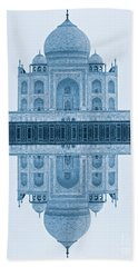 Bath Towel featuring the photograph Taj Mahal by Luciano Mortula