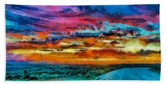 Taos Sunset Iv Wc Bath Towel