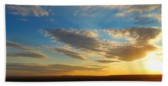 Texas Sized Sunset Hand Towel by Glenn McCarthy Art and Photography