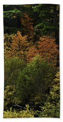 The Boldness Of Autumn Hand Towel