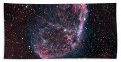 The Crescent Nebula Hand Towel