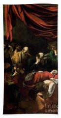 The Death Of The Virgin Bath Towel