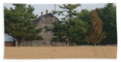 Hand Towel featuring the photograph The Farm by Bonfire Photography