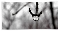 The Foretelling - Raindrop Reflection Bath Towel