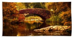 The Gapstow Bridge Bath Towel