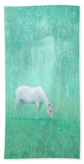 The Green Glade Hand Towel by Steve Mitchell