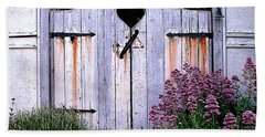 The Heart, Like An Old Gate Needs Care And Attention Bath Towel