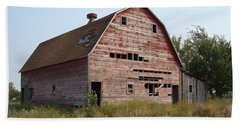 Bath Towel featuring the photograph The Hole Barn by Bonfire Photography