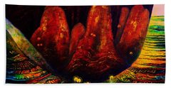 The Ice Cave Hand Towel