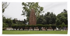 The Jallianwala Bagh Memorial In Amritsar Hand Towel by Ashish Agarwal