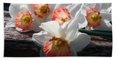Hand Towel featuring the photograph The Ladies Of Spring by Kay Novy
