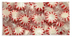 The Land Of Peppermint Candy Hand Towel by Andee Design