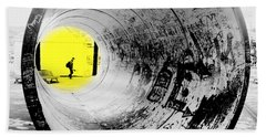 The Light At The End Of The Tunnel Bath Towel