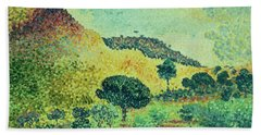 The Maures Mountains Hand Towel