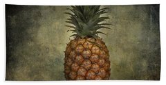 The Pineapple  Hand Towel by Jerry Cordeiro
