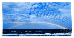 Bath Towel featuring the photograph The Promise by Linda Mesibov