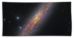 The Sculptor Galaxy, Ngc 253 Hand Towel