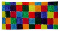 The Square Mandala Hand Towel
