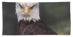The Stare Bath Towel by Eunice Gibb