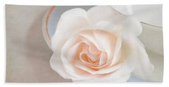 The Sweetest Rose Bath Towel by Lyn Randle