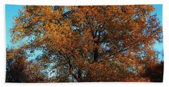 The Tree Of Life Hand Towel by Davandra Cribbie