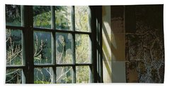 Hand Towel featuring the photograph View Through The Window by Marilyn Wilson