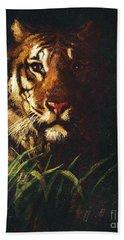 Tigers Head Hand Towel