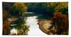 Hand Towel featuring the photograph Tranquil View by Peggy Franz