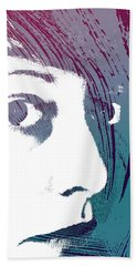 Hand Towel featuring the photograph True Colors by Lauren Radke